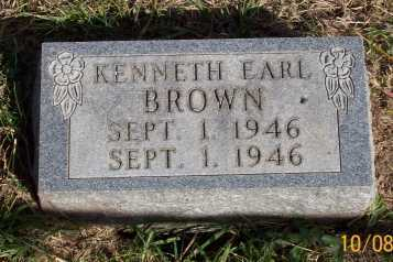 BROWN, KENNETH EARL - Newton County, Arkansas | KENNETH EARL BROWN - Arkansas Gravestone Photos