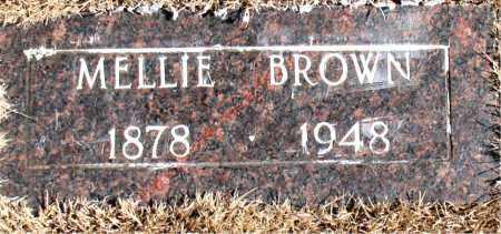 BROWN, MELLIE - Newton County, Arkansas | MELLIE BROWN - Arkansas Gravestone Photos