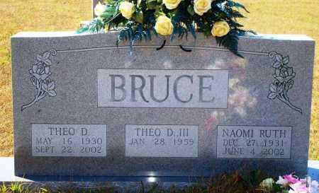 BRUCE, NAOMI RUTH - Newton County, Arkansas | NAOMI RUTH BRUCE - Arkansas Gravestone Photos