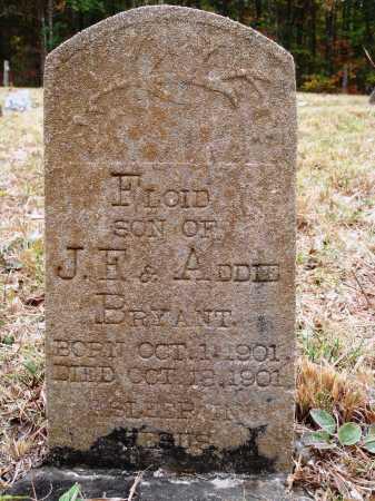 BRYANT, FLOID - Newton County, Arkansas   FLOID BRYANT - Arkansas Gravestone Photos