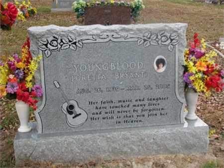 YOUNGBLOOD, LORETTA - Newton County, Arkansas | LORETTA YOUNGBLOOD - Arkansas Gravestone Photos