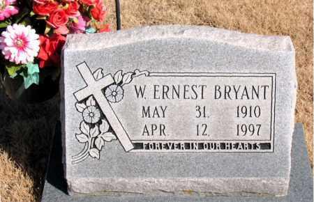 BRYANT, W. ERNEST - Newton County, Arkansas | W. ERNEST BRYANT - Arkansas Gravestone Photos