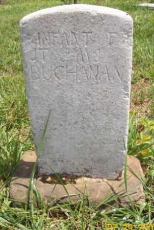 BUCHANAN, INFANT - Newton County, Arkansas | INFANT BUCHANAN - Arkansas Gravestone Photos