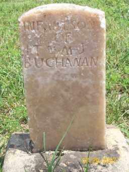 BUCHANAN, INFANT SON - Newton County, Arkansas | INFANT SON BUCHANAN - Arkansas Gravestone Photos