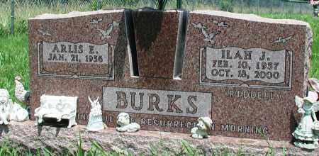 BURKS, ILAH J - Newton County, Arkansas   ILAH J BURKS - Arkansas Gravestone Photos