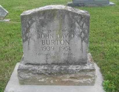 BURTON, JOHN DAVID - Newton County, Arkansas | JOHN DAVID BURTON - Arkansas Gravestone Photos