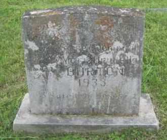 BURTON, MARY DRECELLA - Newton County, Arkansas | MARY DRECELLA BURTON - Arkansas Gravestone Photos