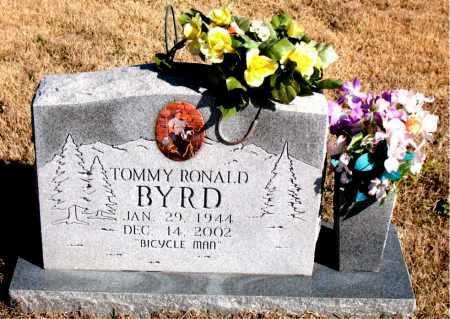 BYRD, TOMMY RONALD - Newton County, Arkansas | TOMMY RONALD BYRD - Arkansas Gravestone Photos