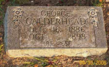 CALDERHEAD, GEORGE - Newton County, Arkansas | GEORGE CALDERHEAD - Arkansas Gravestone Photos