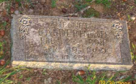 CALDERHEAD, JEANET - Newton County, Arkansas   JEANET CALDERHEAD - Arkansas Gravestone Photos