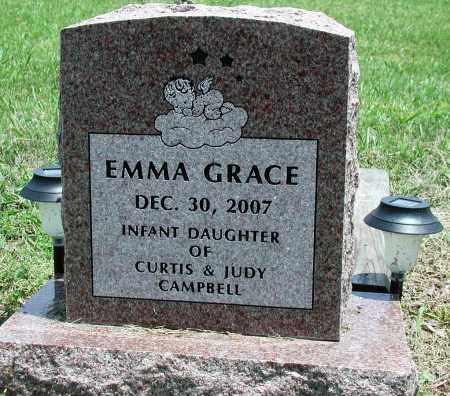 CAMPBELL, EMMA GRACE - Newton County, Arkansas | EMMA GRACE CAMPBELL - Arkansas Gravestone Photos