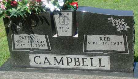 CAMPBELL, PATSY F - Newton County, Arkansas | PATSY F CAMPBELL - Arkansas Gravestone Photos