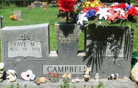 CAMPBELL, WADE - Newton County, Arkansas | WADE CAMPBELL - Arkansas Gravestone Photos