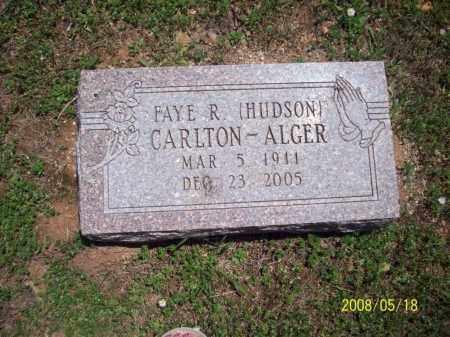 ALGER, FAYE R - Newton County, Arkansas | FAYE R ALGER - Arkansas Gravestone Photos