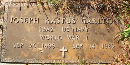CARLTON  (VETERAN WWI), JOSEPH RASTUS - Newton County, Arkansas | JOSEPH RASTUS CARLTON  (VETERAN WWI) - Arkansas Gravestone Photos