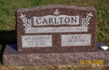 CARLTON, ANN - Newton County, Arkansas | ANN CARLTON - Arkansas Gravestone Photos