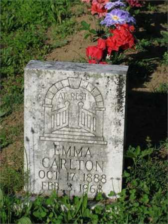CARLTON, EMMA - Newton County, Arkansas   EMMA CARLTON - Arkansas Gravestone Photos