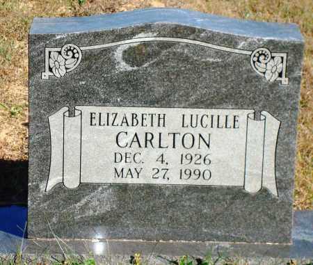 CARLTON, ELIZABETH LUCILLE - Newton County, Arkansas   ELIZABETH LUCILLE CARLTON - Arkansas Gravestone Photos