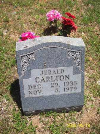 CARLTON, JERALD - Newton County, Arkansas | JERALD CARLTON - Arkansas Gravestone Photos