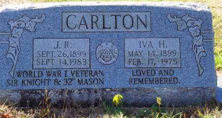 CARLTON, J. R. - Newton County, Arkansas | J. R. CARLTON - Arkansas Gravestone Photos