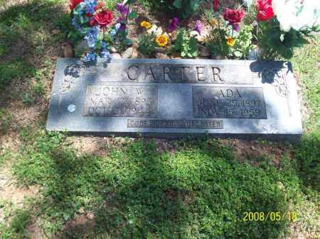 CARTER, ZURA ADA - Newton County, Arkansas | ZURA ADA CARTER - Arkansas Gravestone Photos