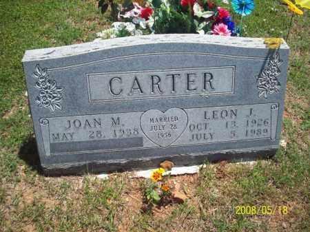 CARTER, LEON J - Newton County, Arkansas | LEON J CARTER - Arkansas Gravestone Photos