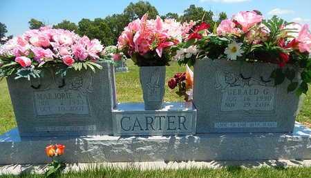 CARTER, MARJORIE A. - Newton County, Arkansas | MARJORIE A. CARTER - Arkansas Gravestone Photos