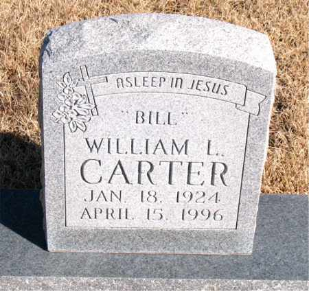 "CARTER, WILLIAM L. ""BILL"" - Newton County, Arkansas 