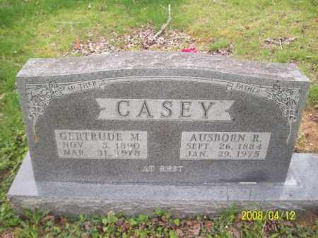 CASEY, AUSBORN R - Newton County, Arkansas | AUSBORN R CASEY - Arkansas Gravestone Photos