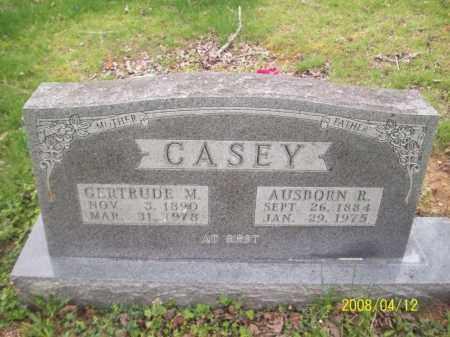 SWAIN CASEY, GERTRUDE M - Newton County, Arkansas | GERTRUDE M SWAIN CASEY - Arkansas Gravestone Photos