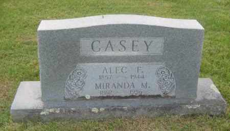CASEY, ALEC FRED - Newton County, Arkansas | ALEC FRED CASEY - Arkansas Gravestone Photos