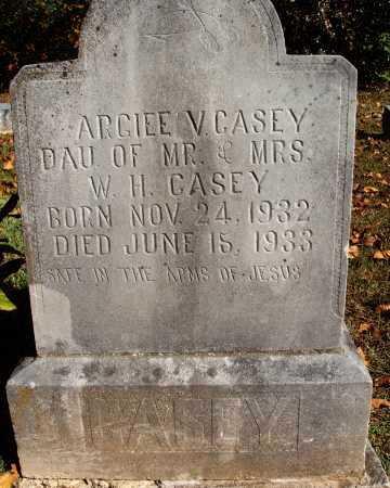 CASEY, ARGIEE V. - Newton County, Arkansas   ARGIEE V. CASEY - Arkansas Gravestone Photos