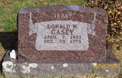 "CASEY, DONALD W. ""JERRY"" - Newton County, Arkansas | DONALD W. ""JERRY"" CASEY - Arkansas Gravestone Photos"
