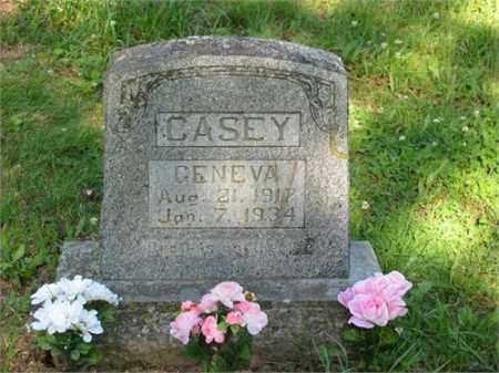 CASEY, GENEVA - Newton County, Arkansas | GENEVA CASEY - Arkansas Gravestone Photos