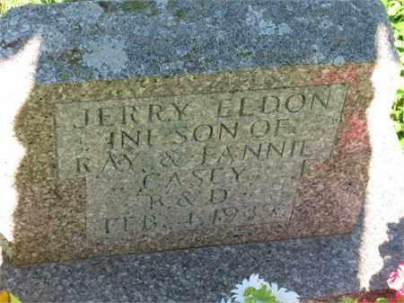 CASEY, JERRY ELDON - Newton County, Arkansas | JERRY ELDON CASEY - Arkansas Gravestone Photos