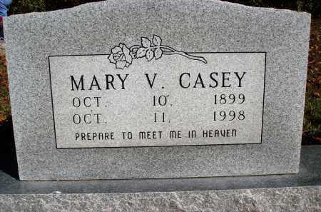 CASEY, MARY V. - Newton County, Arkansas   MARY V. CASEY - Arkansas Gravestone Photos