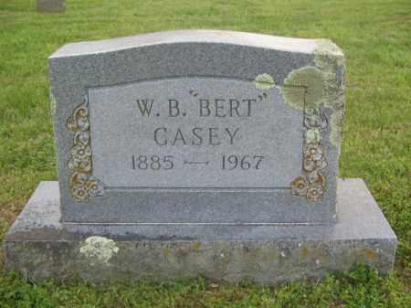 "CASEY, W. B. ""BERT"" - Newton County, Arkansas   W. B. ""BERT"" CASEY - Arkansas Gravestone Photos"