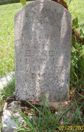 CECIL, INFANT DAUGHTER - Newton County, Arkansas | INFANT DAUGHTER CECIL - Arkansas Gravestone Photos