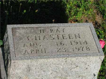 CHASTEEN, H. RAY - Newton County, Arkansas | H. RAY CHASTEEN - Arkansas Gravestone Photos