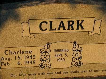 KILGORE CLARK, CHARLENE - Newton County, Arkansas | CHARLENE KILGORE CLARK - Arkansas Gravestone Photos