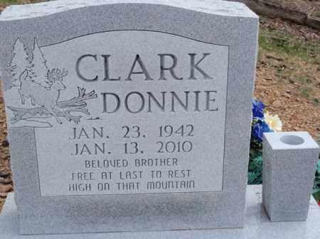 CLARK, DONNIE - Newton County, Arkansas | DONNIE CLARK - Arkansas Gravestone Photos