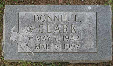CLARK, DONNIE L. - Newton County, Arkansas | DONNIE L. CLARK - Arkansas Gravestone Photos