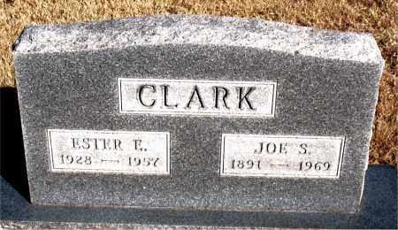 CLARK, ESTER E. - Newton County, Arkansas | ESTER E. CLARK - Arkansas Gravestone Photos