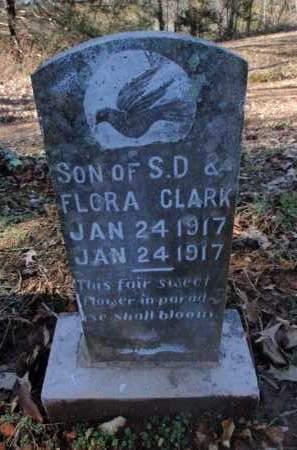 CLARK, INFANT SON - Newton County, Arkansas | INFANT SON CLARK - Arkansas Gravestone Photos
