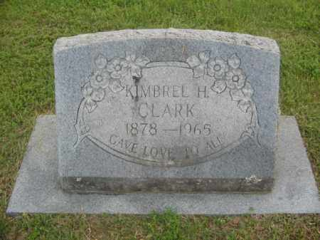 CLARK, KIMBREL H. - Newton County, Arkansas   KIMBREL H. CLARK - Arkansas Gravestone Photos