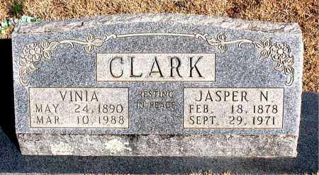 CLARK, VINIA - Newton County, Arkansas | VINIA CLARK - Arkansas Gravestone Photos