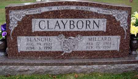 CLAYBORN, BLANCHE - Newton County, Arkansas | BLANCHE CLAYBORN - Arkansas Gravestone Photos