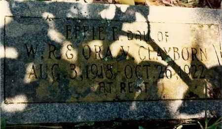 CLAYBORN, EFFIE - Newton County, Arkansas   EFFIE CLAYBORN - Arkansas Gravestone Photos