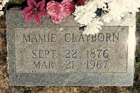 FAUGHT CLAYBORN, MAMIE - Newton County, Arkansas | MAMIE FAUGHT CLAYBORN - Arkansas Gravestone Photos