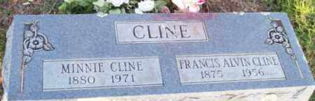 CLINE, FRANCIS ALVIN - Newton County, Arkansas | FRANCIS ALVIN CLINE - Arkansas Gravestone Photos